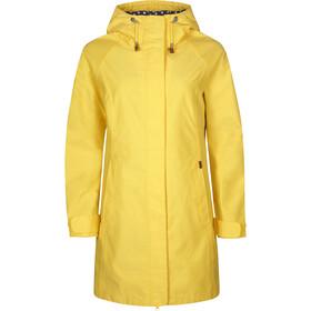 Elkline Offline Rain Coat Women lemon